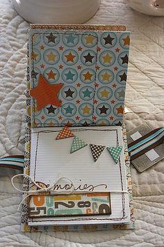 birthday mini scrapbook