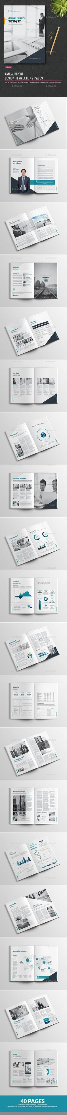 Annual Report 2016/17 Template InDesign INDD. Download here: https://graphicriver.net/item/annual-report-201617/17596471?ref=ksioks