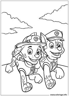 311 best paw patrol coloring pages