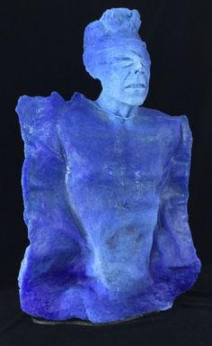 Artist: Jacqueline H-Botquelen Title: The Soul Process: Pate de Verre Size: 36.25 x 21.75 x 12 Inches Year: 2016 Please contact the gallery for pricing  Habatat Galleries 248.554.0590 – info@habatat.com