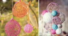 Dekorativ DIY-pynt til havefesten