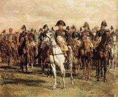 Jean-Louis Ernest Meissonier (Jean Louis Ernest Meissonier), Napoleon and His Staff