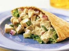 Biggest Loser Indian Chicken Salad Pockets Recipe, Free Healthy Biggest Loser Recipes For The Biggest Loser Diet Plan. Delicious And Healthy Indian Chicken Salad Pockets Recipe. Ww Recipes, Skinny Recipes, Indian Food Recipes, Chicken Recipes, Cooking Recipes, Ethnic Recipes, Recipe Chicken, Recipies, Salad Recipes