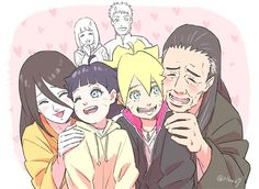 Boruto and his gorgeous hyuga relatives