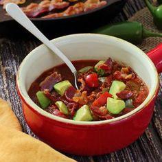 Paleo Crockpot Chili - chilli without beans