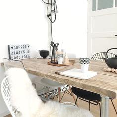 #diningroom #pastoe #flyingtiger #xenos #hmhome #eames #vintagelab15 #prikkabel #lightbox #littlelovelycompany