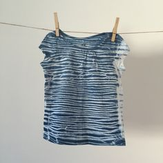 Shibori+T-Shirt+-+Indigo+Blue+White+-+1.5-2yrs+from+BLOY+Hamburg+by+DaWanda.com