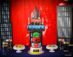 Superheroes Birthday Party Ideas | Photo 1 of 15