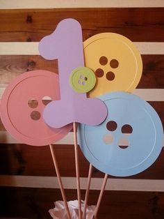 Cute+as+a+button+birthday+party+centerpiece+by+Kirascollection,+$4.00