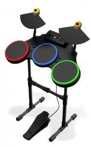 Guitar Hero World Tour: Standalone Wireless Drum Controller (Xbox 360): Amazon.co.uk: PC & Video Games