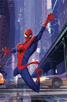 Amazing Spider-Man Vol 5 Cover D Incentive Into The Spider-Verse Animation Variant Cover Marvel Comic Universe, Marvel Heroes, Marvel Cinematic Universe, Marvel Avengers, Ms Marvel, Captain Marvel, Amazing Spiderman, Spiderman Art, Best Marvel Characters