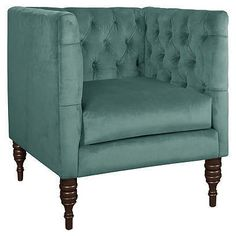 tufted chair | One Kings Lane