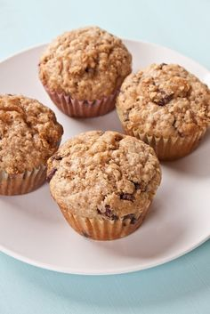 Whole Wheat Oatmeal Chocolate Chip Muffins. I substituted 1/2 of the whole wheat flour with regular flour...easing into it!