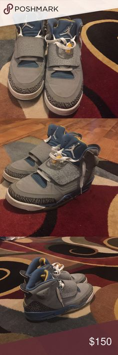 Men Shoes- Jordan's: Son of Mars Jordan's - Only worn five times....Great condition.... Jordan Shoes Athletic Shoes