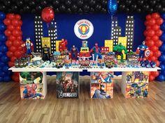 Ideias Festa dos Herois da Marvel