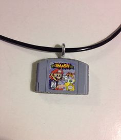 Super Smash Bros Necklace by akeywithin on Etsy, $20.00
