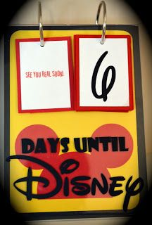 All Things With Purpose: Top 50 Ways to Count Down to Disney