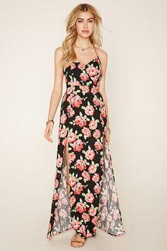 PEDIDOS SOLO POR #ENCARGO Código: F-09 Floral Strappy Maxi Dress Color: Black/red Talla: S-M-L Precio: ₡25.000 ($46,13)  Whatsapp ☎8963-3317, escribir al inbox o maya.boutique@hotmail.com  Envíos a todo el país. #MayaBoutiqueCR