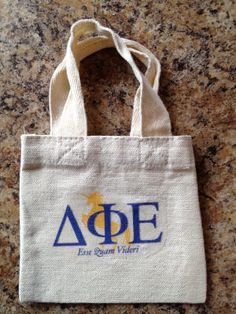 Delta Phi Epsilon Sorority Shower Tote! $10.00 included Shower Gel, Shampoo and hair Conditioner. Soon to be available at www.jbgreek.com