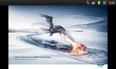 Ford Winter Print Campaign behind the scenes photoshop retouching Creative Advertising, Advertising Poster, Advertising Design, Advertising Campaign, Winter Car, Winter Tyres, Bon Courage, Business Cards Layout, Great Ads