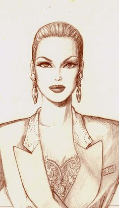 pen and pencil style by Pilar