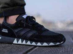 premium selection c4ab0 51b1a Adidas Boston Super x Neighborhood Black post image Adidas Models, Adidas  Release,
