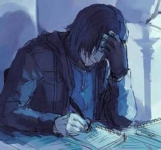 """lightningstrikes-art: """" Pretty much burst into flames after reading this [x]. Bucky writing down as much as he could remember in case he was ever in a situation where he would forget everything. Fanart Harry Potter, Harry Potter Severus, Harry Potter Fandom, Severus Snape, Severus Rogue, Hogwarts, Winter Soldier Bucky, Bucky And Steve, Univers Marvel"""