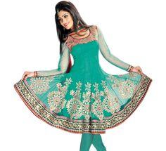 Embroidered Salwar Suits For Girls #girlssalwarsuits #OnlineSalwarSuits