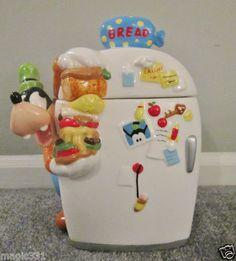 Goofy Talking Cookie Jar...LOVE!