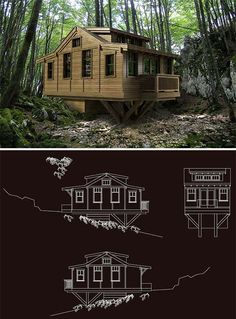 Busy Boo small-modular-homes Lopez Small Modular Homes, Tiny Homes, Passive Solar Homes, Man Of The House, Small Cottages, Solar House, Small Places, Tiny House Living, My Escape