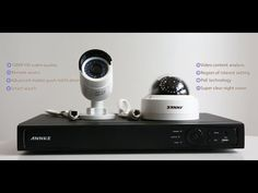How to set up Annke 1080P PoE bullet & dome security camera system-N48PI+I61FB+I61FC - YouTube