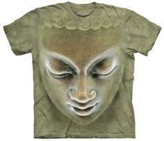 Big-Face-Buddha-Adult-Inspirational-Mountain-Unisex-T-Shirt
