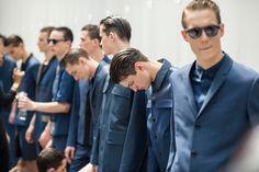 Image of Dior Homme 2014 Spring/Summer Backstage Visuals