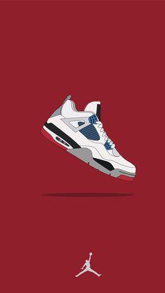"Jordan 4 ""Retro What The"" Jordan Shoes Wallpaper, Sneakers Wallpaper, Ps Wallpaper, Vogue Wallpaper, Painting Wallpaper, Bo Jackson Shoes, Zapatillas Nike Jordan, Hypebeast Iphone Wallpaper, Image Swag"
