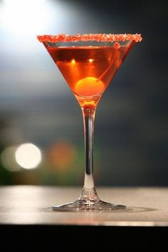 The Rose Cocktail is one of the more vintage cocktails and originated in 1920s. It comes with kirsch (or kirschwasser) as main alcohol, cherry-brandy, raspberry liqueur and dry vermouth. Kirsch is a rare dry-fruit brandy from Germany and France.