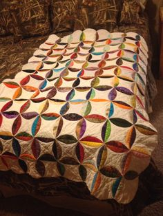 Quilt as you go - scrappy