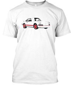 Limited Edition Porsche Carrera Design Tagless T-Shirt