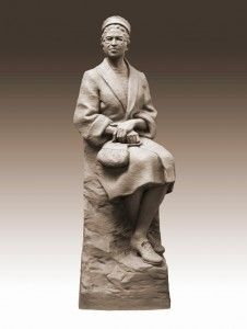 Beautiful Rosa Parks statue in DC!