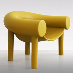 Konstantin Grcic's Sam Son chair for Magis has a backrest like a pool noodle