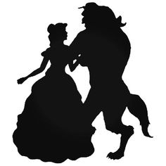 Beauty and the beast Vinyl decal sticker X ikea Ribba frame black or white - Disney - Beauty And The Beast Silhouette, Beauty And The Beast Party, Disney Beauty And The Beast, Beauty And The Beast Drawing, Beauty Beast, Arte Disney, Disney Art, Disney Fonts, Wallpaper Rosa