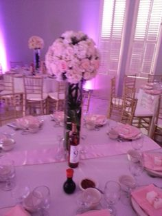 Centerpiece by Longwood Events and Weddings