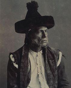 Sombrero de catite, old photo From Andalucía