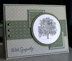 With Sympathy by card crazy - Cards and Paper Crafts at Splitcoaststampers Card Sketches, Scrapbook Sketches, Get Well Cards, Birthday Cards, Birthday Images, Birthday Quotes, Birthday Greetings, Birthday Wishes, Happy Birthday