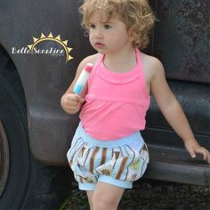 Rose Bubble Shorts - Sizes 6M to Girls 12 | YouCanMakeThis.com