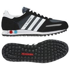 Men's adidas Originals   LA Trainer Shoes