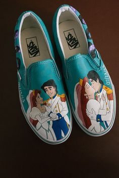 Little Mermaid Vans.