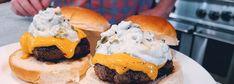 Sauce Recipes, Beef Recipes, Weekly Recipes, Hamburger Recipes, Chicken Recipes, Hamburgers, Hidden Valley Recipes, Ranch Burgers, Creamed Beef