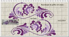 This Pin was discovered by Nim Celtic Cross Stitch, Mini Cross Stitch, Cross Stitch Borders, Cross Stitch Alphabet, Cross Stitch Flowers, Cross Stitch Designs, Cross Stitching, Cross Stitch Embroidery, Embroidery Patterns