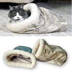 Kitty Crinkle Sack Cat Toy - The perfect play and sleep spot for any age cat.