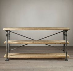 Restoration Hardware Look Alikes Black Friday Lals Baker S Rack Console 1395